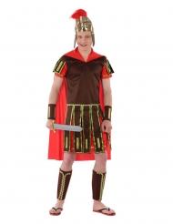 Römisches-Kostüm für Jugendliche antike Faschings-Verkleidung braun-rot