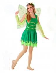 Zauberhaftes Fee-Kostüm für Jugendliche märchenhafte-Verkleidung grün