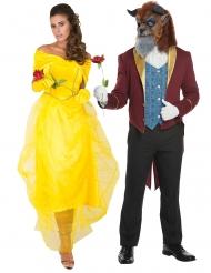 Märchen-Kostüm für Paare Prinzessin und Prinzen-Kostüm