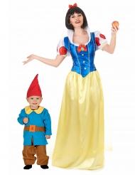 Märchen-Paarkostüm Mutter & Kind-Verkleidung für Fasching bunt