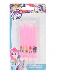 My little Pony™-Kerzen für Mädchen Geburtstage 4 Stück rosa 9 cm