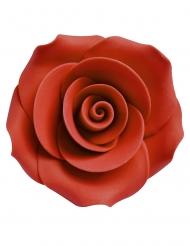 Deko-Rosen als Tischdeko oder Blumen-Dekoration 8 Stück rot 2,5 cm
