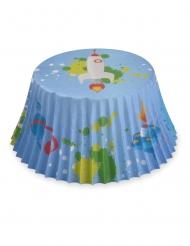 Muffin-Formen Cupcake-Zubehör mit Weltall-Motiv bunt 7 cm