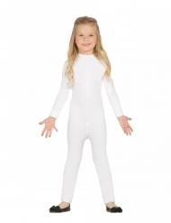 Bodysuit für Kinder Kostüm-Body für Fasching weiss