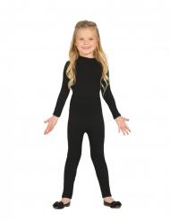 Kostüm-Body für Kinder Overall für Fasching und Halloween schwarz