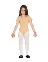Body für Kinder Ballerina-Bodysuit beigefarben