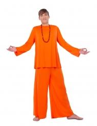 Buddhistisches Mönch-Kostüm religiöse-Verkleidung orange