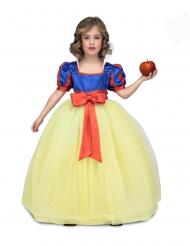 Märchen-Prinzessin Kinderkostüm für Mädchen Faschings-Verkleidung blau-gelb-rot