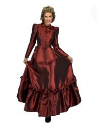 Western-Kostüm für Damen Faschings-Verkleidung rot