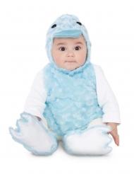 Entenkostüm für Babys Tier-Verkleidung für Fasching blau