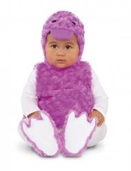 Tierbaby-Entenkostüm für Kleinkinder Faschings-Verkleidung lilafarben