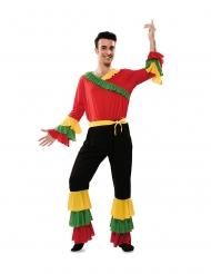 Kulturelles Rumba-Kostüm tänzerische-Verkleidung für Herren bunt