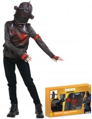 Fortnite™-Black Knight Kostümbox für Jugendliche Faschings-Verkleidung schwarz-rot