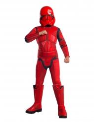 Sith-Trooper-Kostüm für Kinder rot