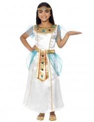 Kleopatra-Kostüm für Kinder weiss-gold