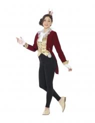 Hasenkostüm für Jugendliche Wunderland-Kostüm