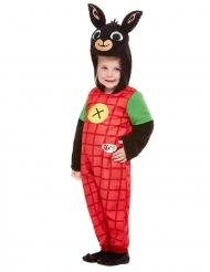 Bing™-Kostüm für Kleinkinder Faschings-Verkleidung schwarz-rot