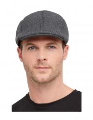 Baskenmütze im Stil der 20er-Jahre Accessoire für Herren grau