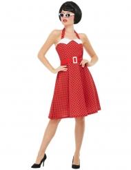 Rockabilly-Kostüm 50er-Jahre Faschings-Kostüm rot
