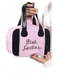 Grease™-Handtasche Pink Ladies Lizenzartikel schwarz-rosa