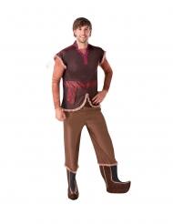 Frozen 2™ Kristoff-Kostüm für Herren Faschings-Verkleidung braun