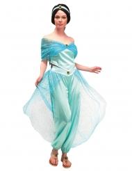 Orient-Prinzessin Damenkostüm für Fasching türkisfarben