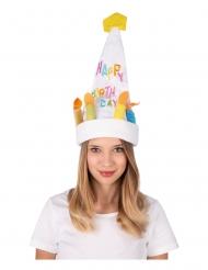 Tanzender und singender Hut Geburtstagstorte bunt