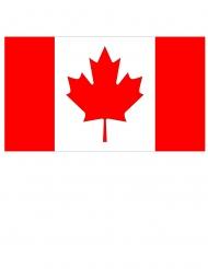 Kanadische Flagge für Mottopartys Raumdekoration rot-weiss 150 x 90 cm
