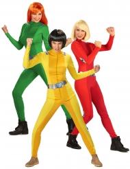 Spioninnen-Trio Gruppenkostüm für Damen
