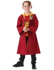 Harry-Potter™-Kostüm Quidditch-Uniform für Kinder Gryffindor rot-gelb