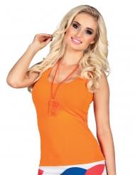 Schnapsglas-Perlenkette Partyzubehör orange