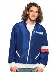 Frankreich-Jacke für Herren blau-weiss-rot