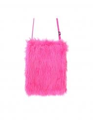 Handtasche für Damen Accessoire zum Umhängen pinkfarben