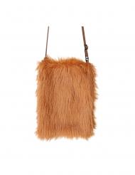 Beutel-Tasche Kostüm-Accessoire für Fasching braun