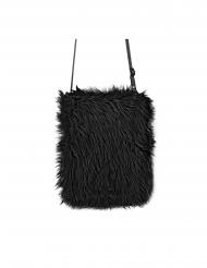 Party-Tasche Kostüm-Accessoire Beutel zum umhängen schwarz