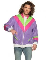 80er-Jacke für Herren Jogging-Weste Bad-Taste bunt