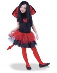 Teuflisches Kinderkostüm für Halloween Teufelkostüm schwarz-rot