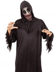Schaurige Ungeheuer-Maske für Erwachsene Halloween bunt