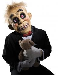 Schaurige Vollmaske Puppen-Maske für Halloween bunt