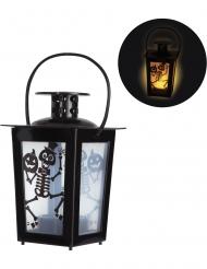 Leuchtende Laterne Halloween-Deko 8 x 8 x 15 cm