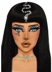 Kleopatra-Glitzersteine selbstklebend Make-up Steine bunt