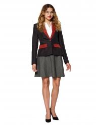 Mrs. Gryffindor™-Damenjacke Suitmeister™ schwarz-rot