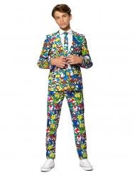 Mr. Super Mario™ Opposuits™-Kinderkostüm für Fasching bunt