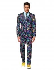 Mr. Vegas-Anzug für Herren Opposuits™ blau-bunt