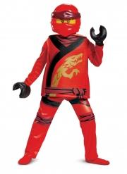 Ninjago Kai™-Kinderkostüm Lego™ für Fasching rot