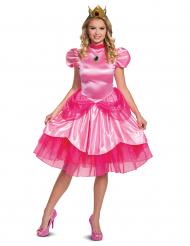 Prinzessin Peach™-Damenkostüm Deluxe Nintendo™-Lizenzkostüm pink