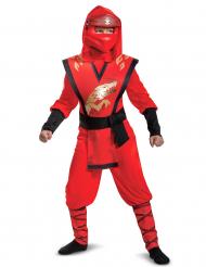 Kai-Kostüm Ninjago™ Legacy für Kinder rot-schwarz-gold