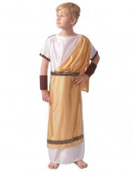 Römer Kinderkostüm Karneval für Jungen weiss-gold