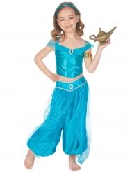 Orientalische Prinzessin Mädchenkostüm blau
