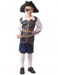 Räuberisches Piraten-Kostüm für Kinder Jungenkostüm bunt